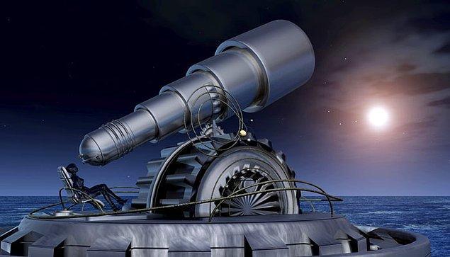14. Bugün sahip olduğumuz gelişmiş teleskoplarla, 2 milyar ışık yılı uzaklıktaki galaksileri görebilmekteyiz. Kısacası onların, Dünya üzerinde yalnızca tek hücreli canlıların yaşamakta olduğu zamanki hallerine bakıyoruz.
