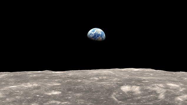 35. Ay, Dünya'dan her yıl 4 cm kadar uzaklaşmaktadır.