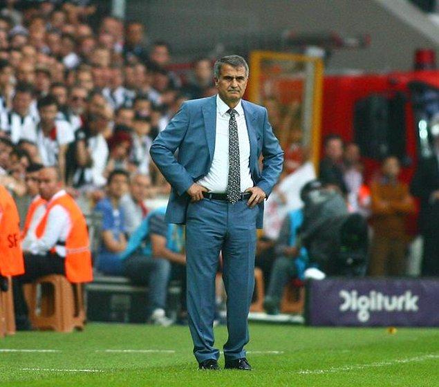 Şenol Güneş'in ilk Süper Lig şampiyonluğu