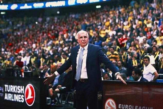10. kez Euroleague finali gören Obradovic bunlardan sadece ikisini kazanamadı.