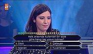 Kim Milyoner Olmak İster'de İkinci Soruda Elenen LYS Türkiye 5.'si