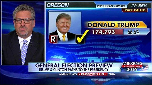 Rakipsiz Trump Oregon'da yüzde 66 oyla kazandı