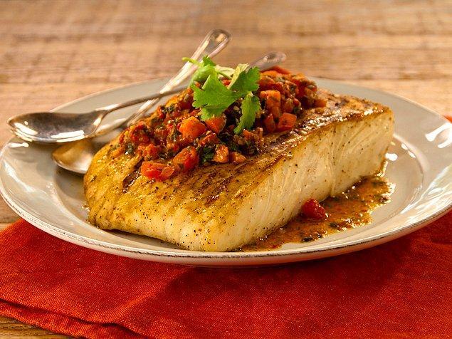 6. Balık+Domates+Kapari+Tereyağı+Maydonoz