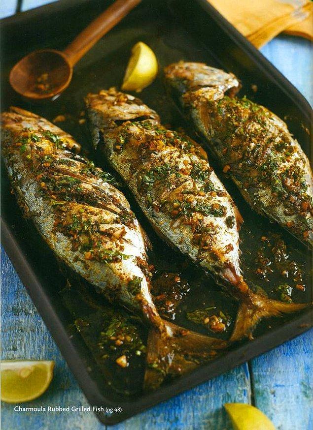 11. Balık+Limon+Acı Pul Biber+Kimyon+Taze Kişniş/Maydonoz