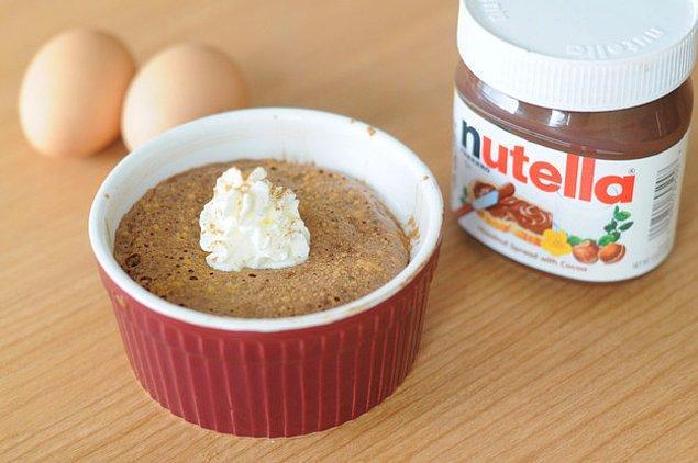 6. Peki şipşak bir tatlı da yapılır mı ki yumurtayla?
