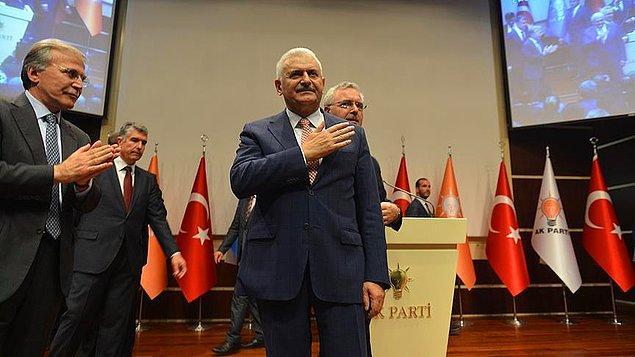 1. Ve Resmen Açıklandı: Sürpriz Yok, AKP Genel Başkan Adayı Binali Yıldırım