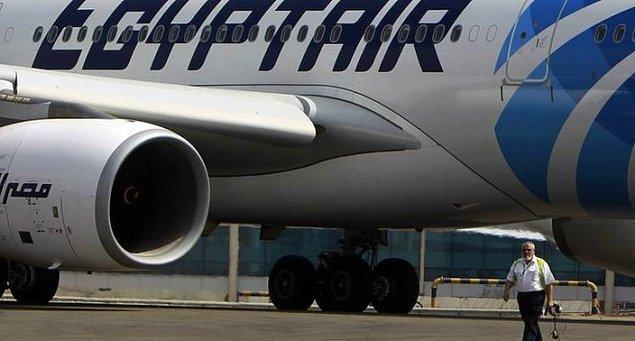 4. Paris - Kahire Seferini Yapan Mısır Uçağı Düştü