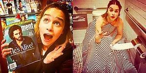 Emilia Clarke'ın Dünyanın En Tatlı Kadını Olduğunu Kanıtlayan 21 Instagram Fotoğrafı