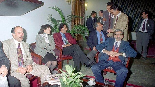 2 Mart 1994: DEP'li vekillerin dokunulmazlıkları kaldırıldı