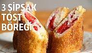 Çat Kapı Misafire Yapılabilecek En Güzel Şey: Şipşak Tost Böreği Tarifi!