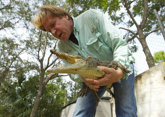 7. Geçtiğimiz günlerde ABD'nin Florida eyaletinde Nil timsahlarına rastlanmıştır fakat oraya nasıl geldikleri hala gizemini korumaktadır.