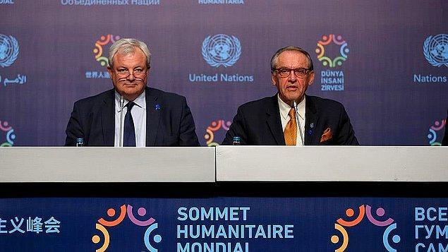 BM'den dünya liderlerine insani yardım çağrısı