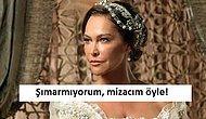 21 Gif'le Hülya Avşar'ın Hangi Role Girerse Girsin Şımarık Görünmekten Kurtulamaması