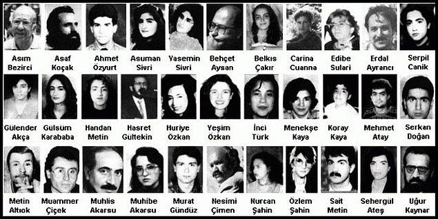 6. Toplumsal hafızada derin yaralar açan olayları görmezden gelmedi. Bunlardan biri de Sivas Katliamı'ydı.