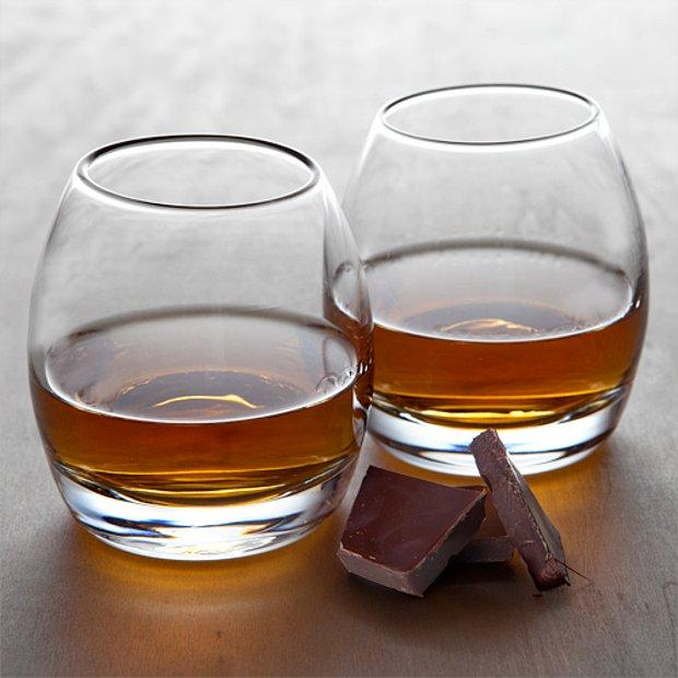 Viski ve çikolata