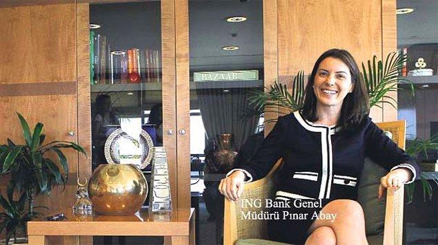 3. Pınar Abay - ING Bank Türkiye Genel Müdürü