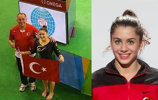 2. İkinci ismimiz de çok genç yaşta: 2016 Rio Olimpiyatları'nda bizi Artistik Jimnastik dalında temsil edecek olan 17 yaşındaki Tutya Yılmaz