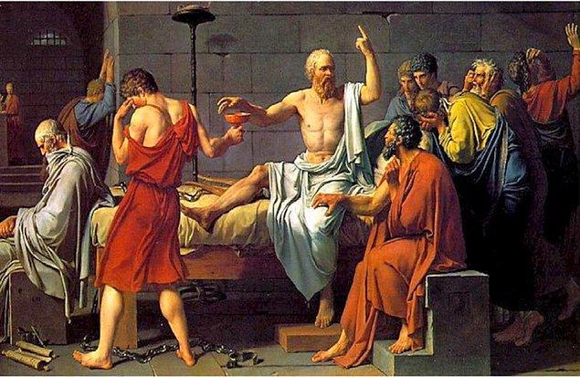 """2. Sokrates günümüzde yaşasa kendisine şizofreni tanısı konulabilirdi. Çünkü filozof etik ve felsefe alanında kendisine rehberlik eden bir """"daimon""""un olduğunu söylüyordu."""