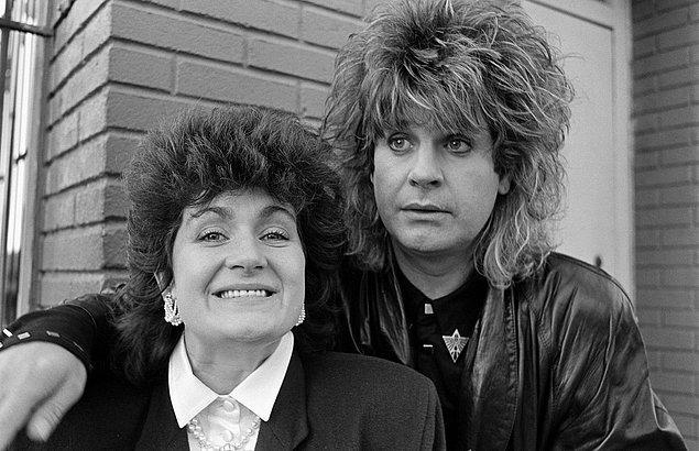 Sharon; Ozzy Osbourne ile henüz 18 yaşındayken, babası Don Arden, Black Sabbath'ın menajerliğini yaparken tanışmıştı.