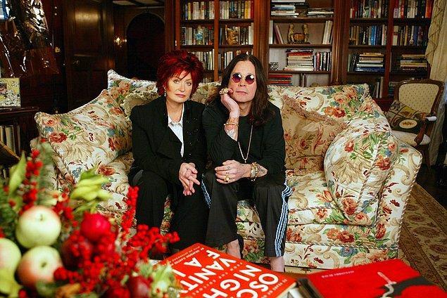 Hey gidi Sharon, hey! Sen kalk, vahşi rockçı Ozzy'yi adam et, sonra başına bunlar gelsin! Olacak iş değil…