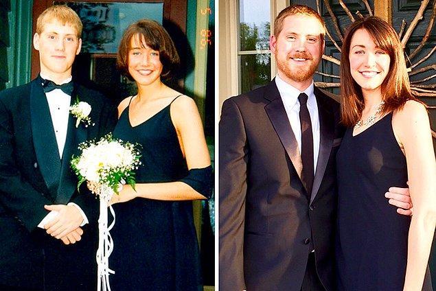 2. Yaklaşık 20 sene sonra, aynı elbise! 👗👗