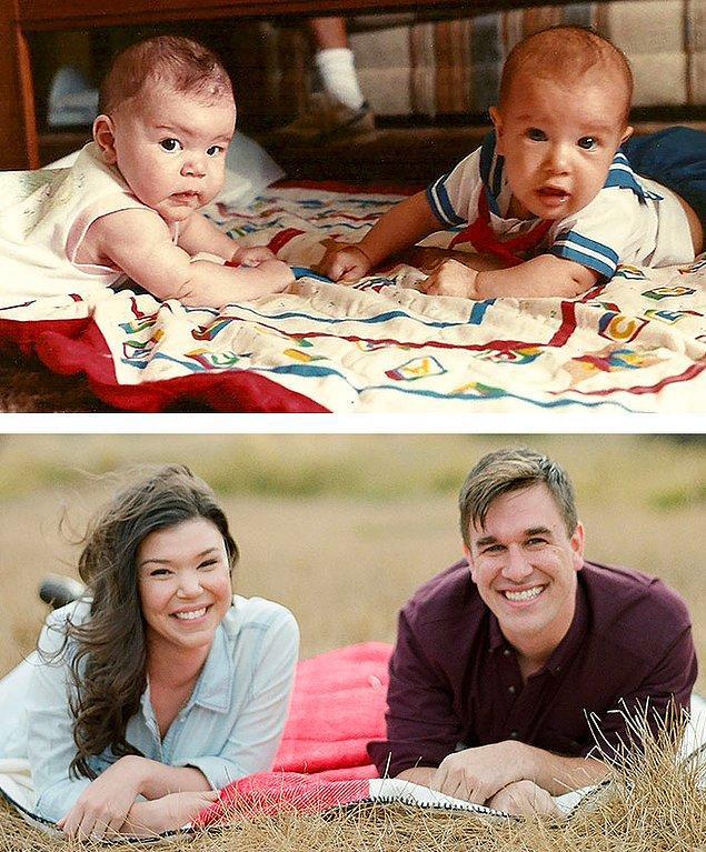 7. 1989'da 11 gün arayla doğan Aubrey ve Mike 2015'te dünya evine girmiş!