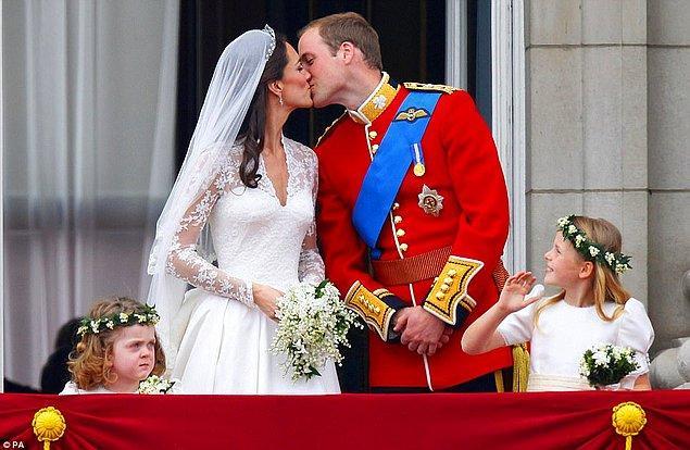 2. Kate Middleton & William Windsor