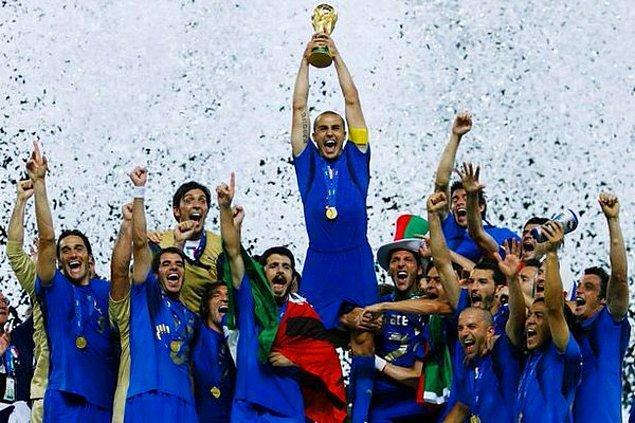 9. O yıl düzenlenen Dünya Kupası'nı İtalya kazanmıştı...