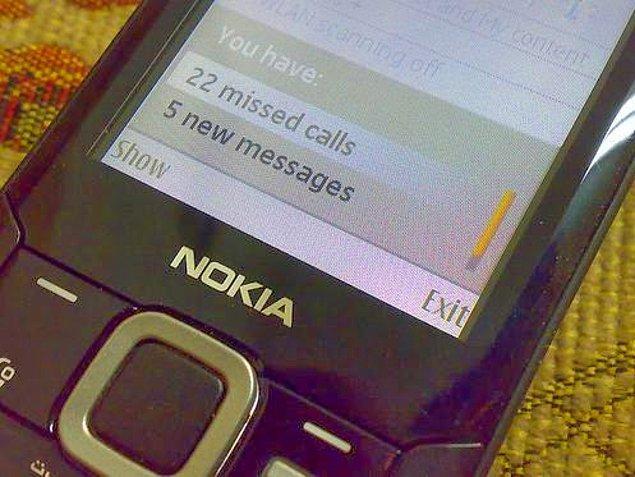 3. Birbirine çağrı atılarak haberleşilen ve nadiren mesaj gönderilen bir dönemdi.