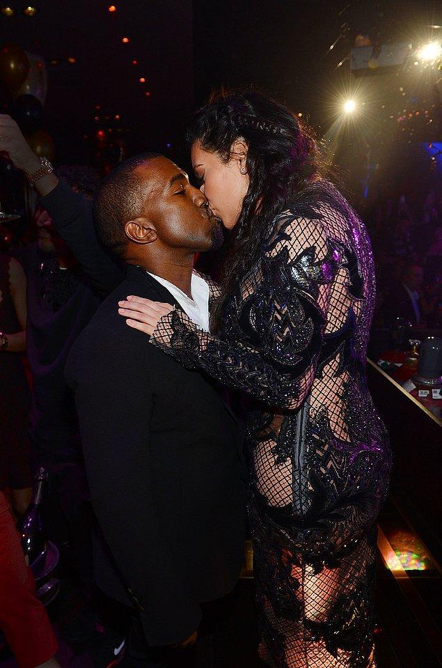 8. Kanye West & Kim Kardashian
