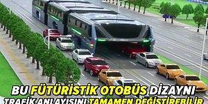 Trafik Sorununa Çözüm Olacak Fütüristik Dev Otobüs