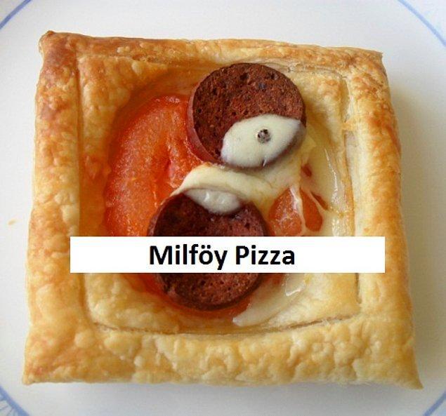 24. Son olarak bu ying yang sembollü mini pizza ile veda ediyoruz. Her iyiliğin içinde bir kötülük her kötülüğün içinde bir iyilik vardır. Kimseyi dinlemeyin, siz güzel olduğuna inanıyorsanız lütfen yemek yapmaya devam edin.