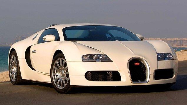 11) Bugatti EB 16.4 Veyron