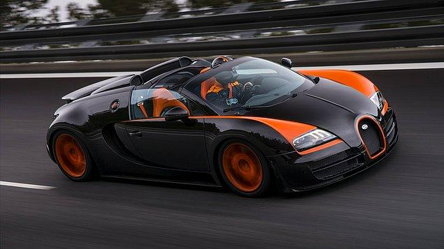 10) Bugatti Veyron Grand Sport