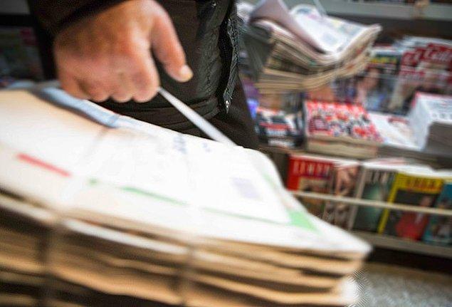 Bugün ulusal gazeteler basılmadı