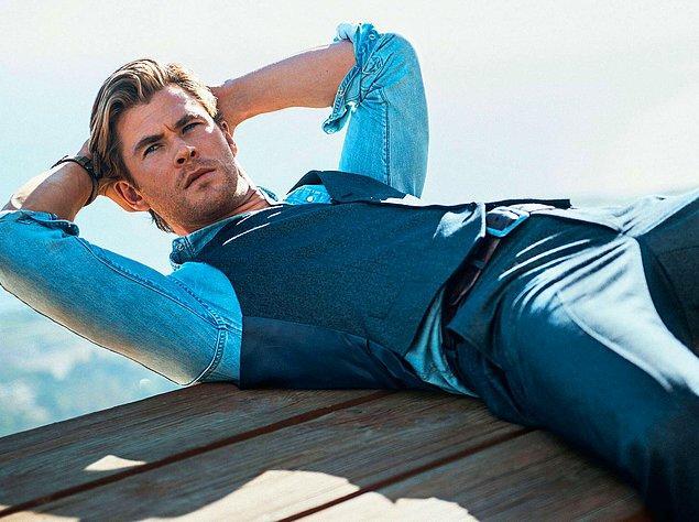 15. Chris Hemsworth