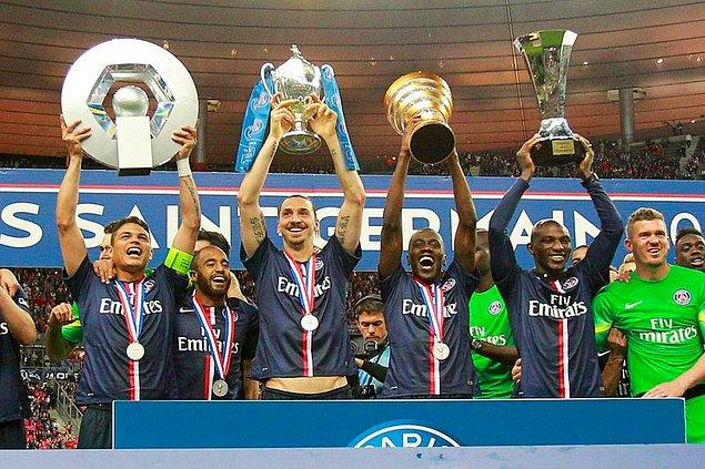 Fransa'daki tüm kupaları kazandı