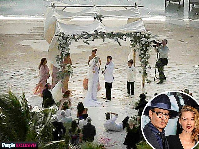 Çift geçen yıl Bahamalar'da 24 kişinin katıldığı sade bir törenle evlenmişti