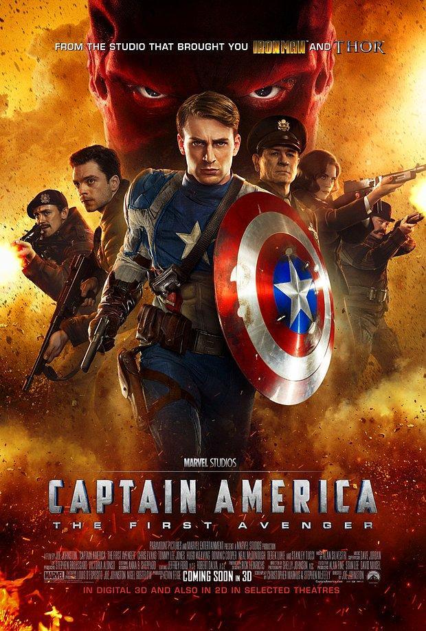 İlk Yenilmez: Kaptan Amerika (2011)  Captain America: The First Avenger