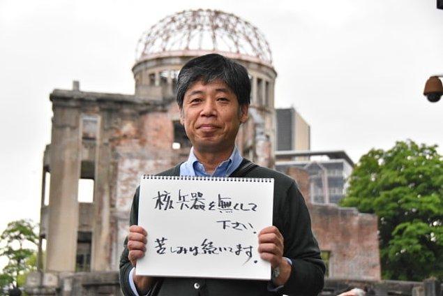 Bütün Nükleer Silahları Yok Edin! Biz Hala Acı Çekiyoruz!