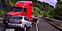 Dikkatsiz Sürücüler Yine İş Başında: Araç Kameralarına Yansıyan Kazalar