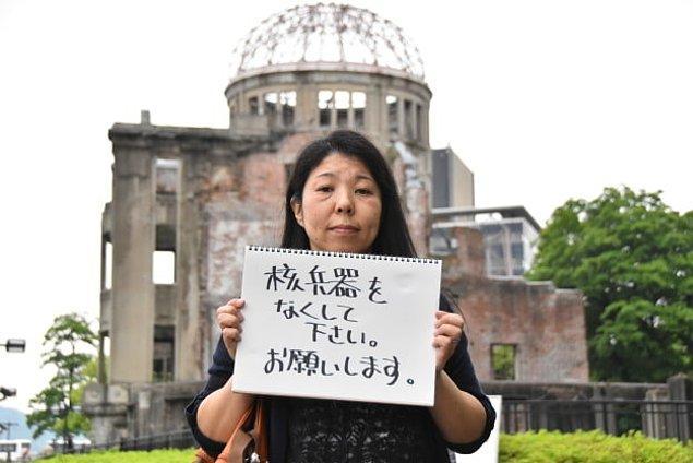 Nükleer Silahları Yok Edin! Size Yalvarıyorum!
