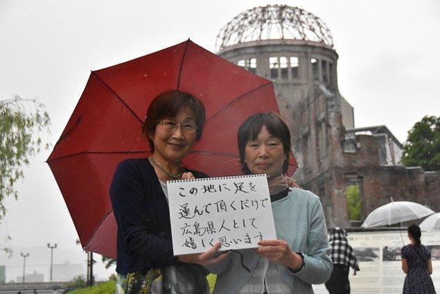 Hiroşimalılar Olarak Bizi Ziyaret Ediyor Olmanızdan Bile Mutluyuz!