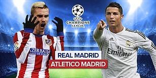 Şampiyonlar Ligi Finalinin Tadını ve Paramızı Katlıyoruz! Real Madrid - Atletico Madrid