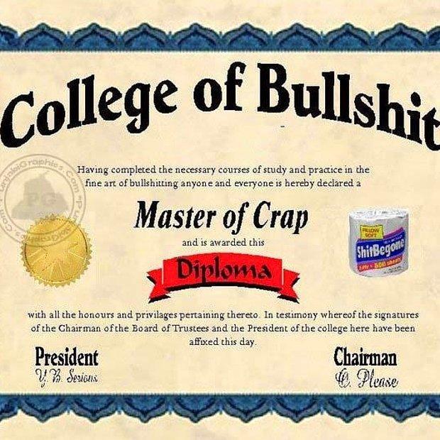 Diploma ;)