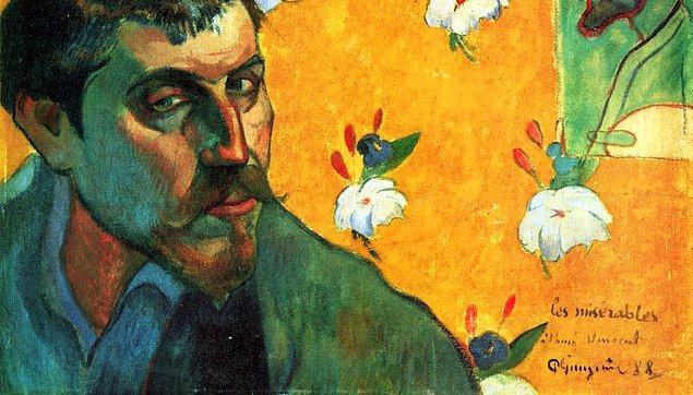 4. Bir dönem Van Gogh'un ev arkadaşı da olan Gauguin, Panama Kanalı'nın inşaatında çalıştı.