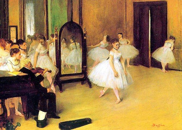7. Edgar Degas, dansa ve dansçılara hayrandı. Tahminlere göre, dansçıları tasvir ettiği yaklaşık 1500 eser bıraktı.