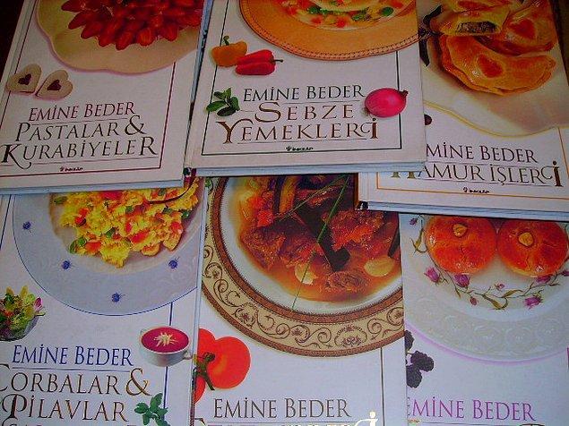 """12. """"Kızım yemek yapamazsa rezil olmasın"""" temasıyla yola çıkılmış yemek kitapları"""