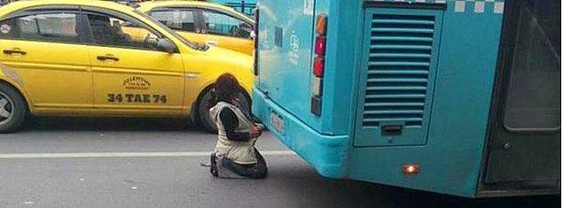 Bazı çocukların imkansızlıklardan çözümler yaratmaya çalışması.
