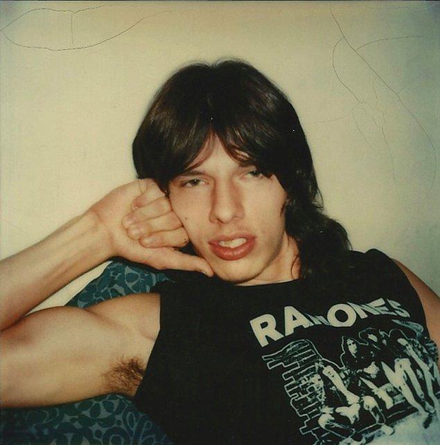 """14. """"Richie"""" in Ramones T-Shirt, c.1970ler"""